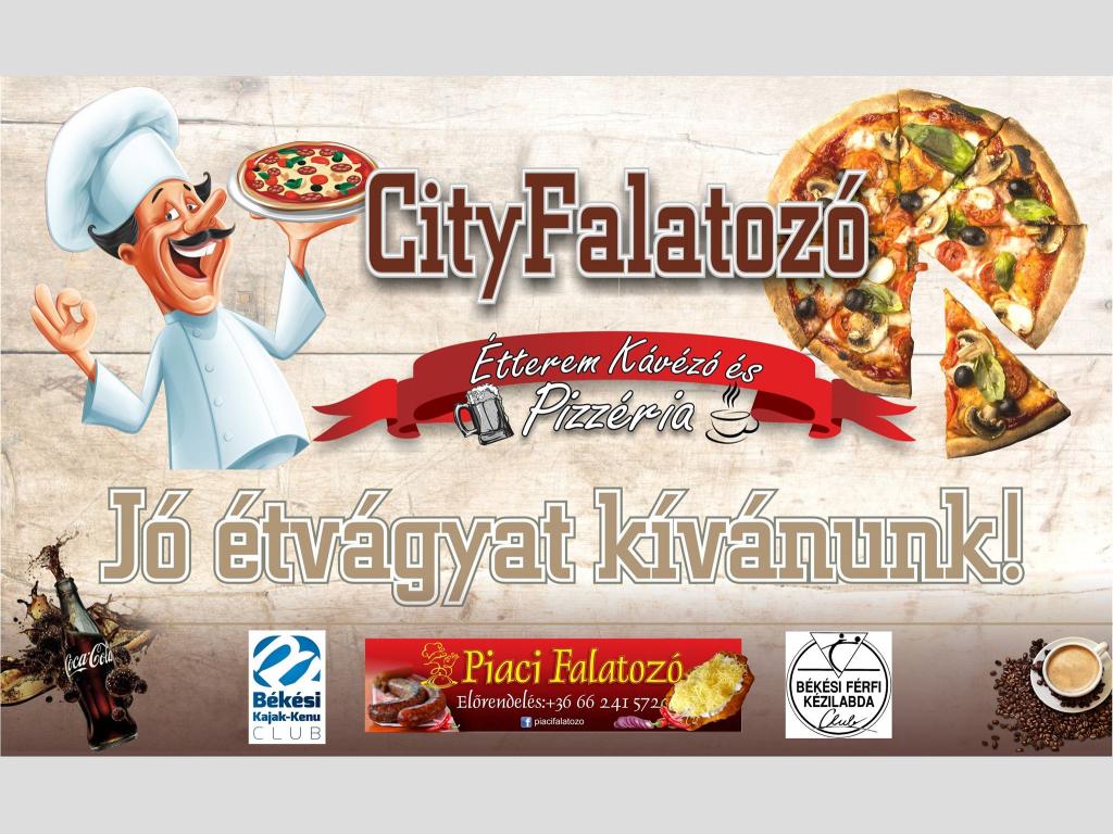 City Falatozó - Étterem, Kávézó és Pizzéria