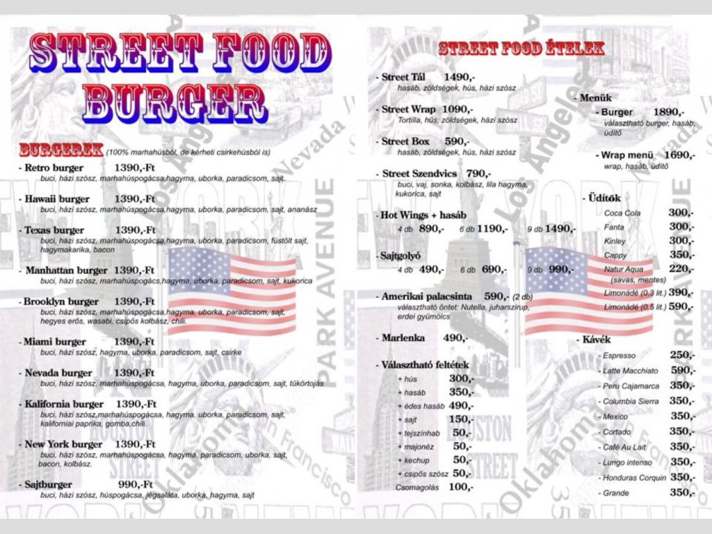 Street Food Burger Békés