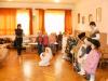 A Csiribiri csoport karácsonyi műsora az idősek otthonában