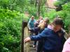 Erdei iskolás 3.a osztályosok a Szegedi alsóban