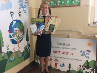 Bányai Nóra Lili, a Refi Diákjainkért Alapítvány díjasa