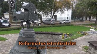 Református Istentisztelet 20201115