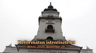 Református Istentisztelet - 2020.11.29