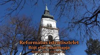 Református Istentisztelet 2021.02.21.