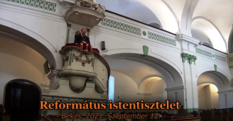 Református Istentisztelet - 2021.09.12.